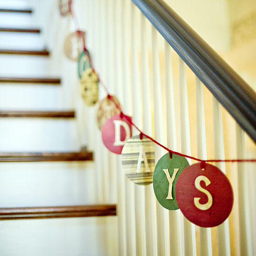 Make a Homespun Garland