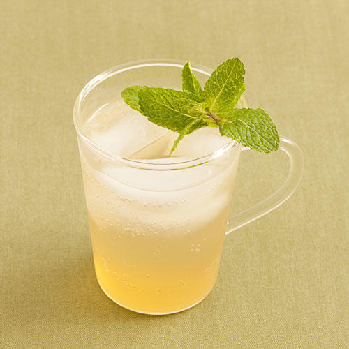 Honey-Green Tea Fizz