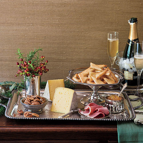 Elegant Southern Christmas: Fabulously Festive Party, Appetizer, And Cheese Trays
