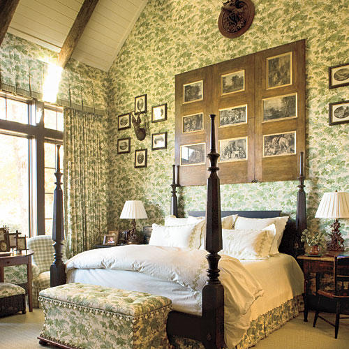 master bedroom decorating ideas southern living 17388 | 1012 bedroom inspiration fabric walls x itok gszjbsfq