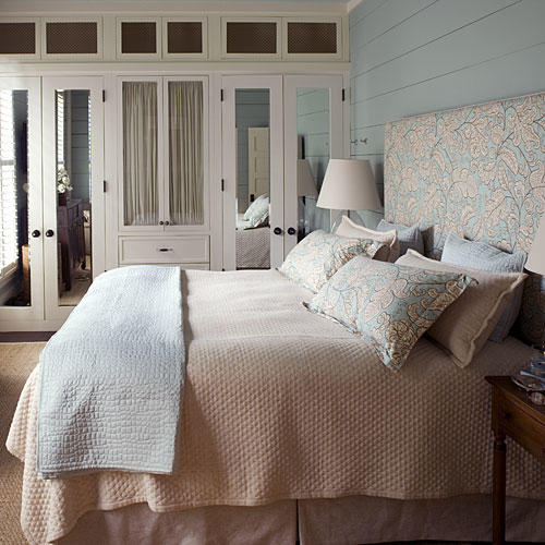 Light and Neutral Headboard