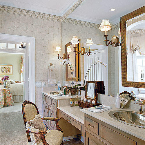 Sophisticated Master Bathroom