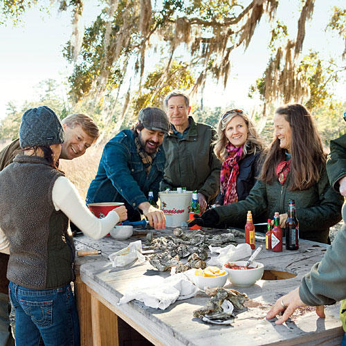 Meet Our Oyster Roast Host