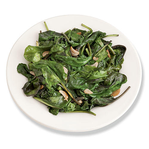 1103 Garden Fresh Baby Vegetables Sauteed Baby Beet Greens