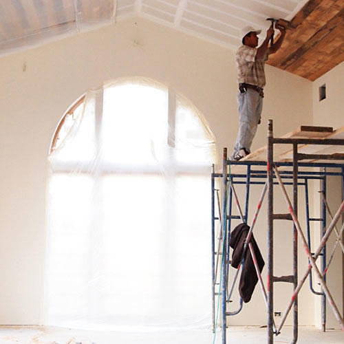 Installing Wood Ceilings
