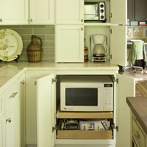 Dream Kitchen Design Ideas: Hidden Appliances