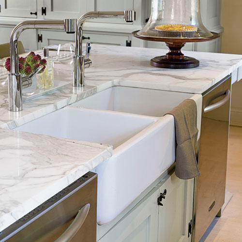 Two-Bowl Sink