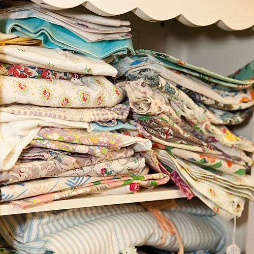 Stock Up on Vintage Linens