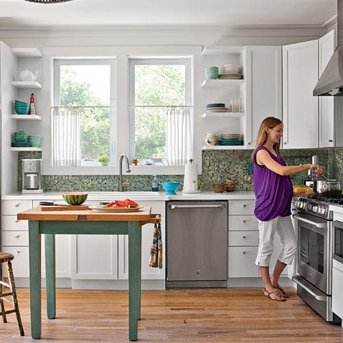Cottage Kitchen Designs New Decorating