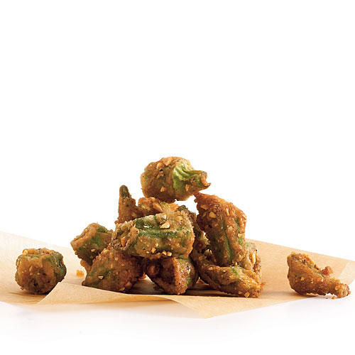 Nutty Okra