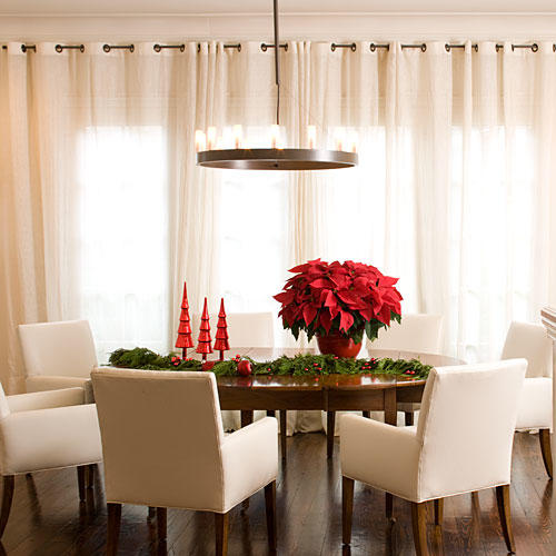 Drape the Dining Room. Stylish Dining Room Decorating Ideas   Southern Living