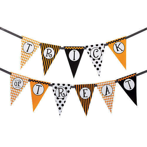 Trick or Treat Banner