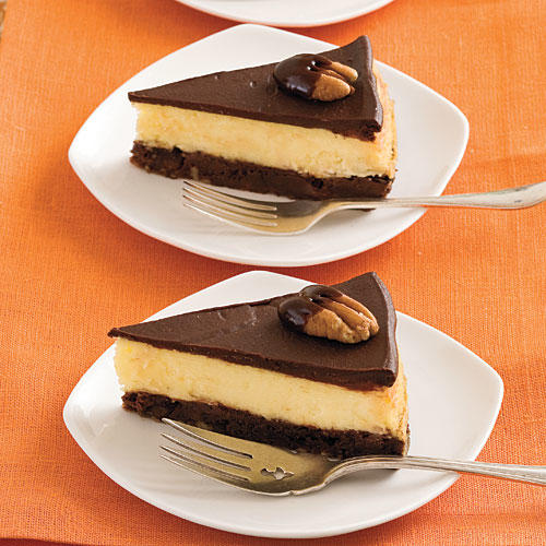 Chocolate-Fudge Cheesecake