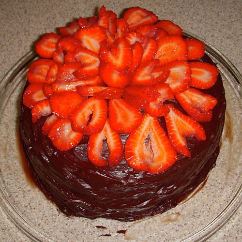 Southern Living Chocolate Cake With Raspberry Filling And Chocolate Ganache