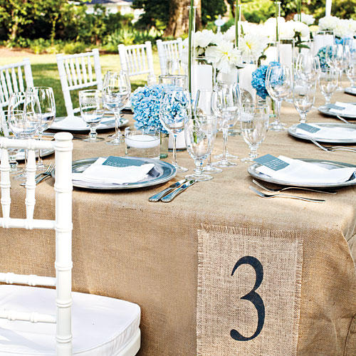 Southern Wedding Reception Food: Wedding Table Ideas