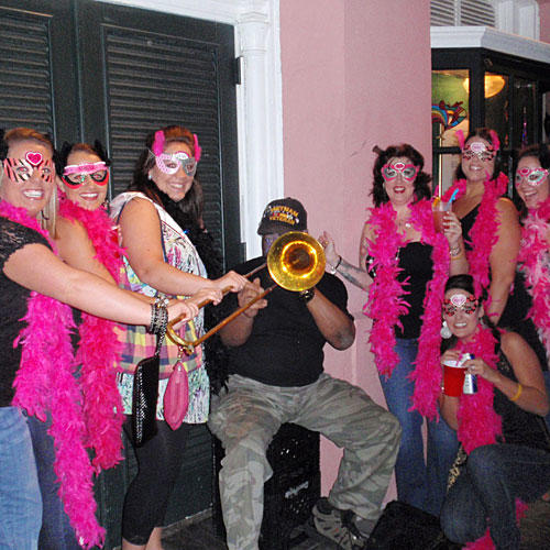 Mardi Gras Bachelorette Party