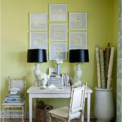 Green Decorating Ideas