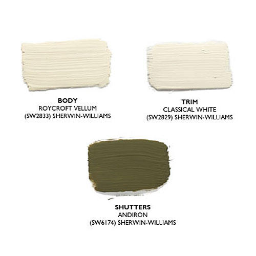 How to pick the right exterior paint colors southern living for Interior paint colors that go together