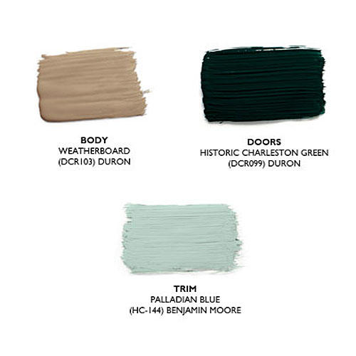 pure patina paint colors - Exterior Paint Colors