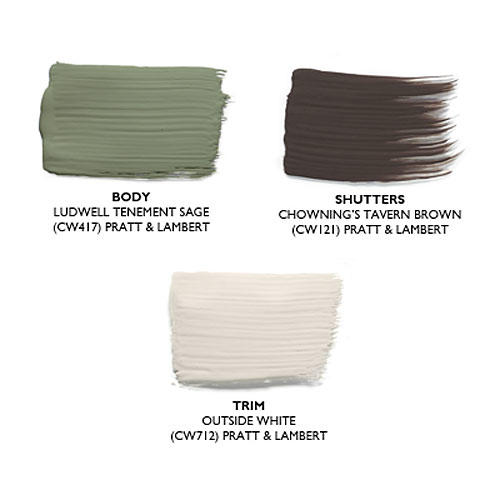 Earthy Tones: Paint Colors