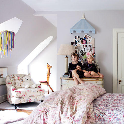 pink and purple bedroom. Hint of Purple Pink and Decorating Ideas  Southern Living