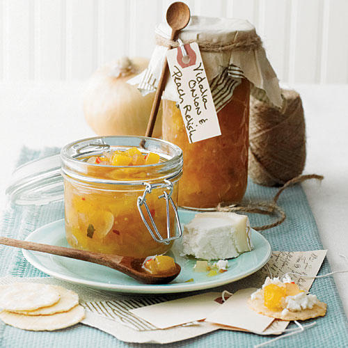 Vidalia Onion & Peach Relish