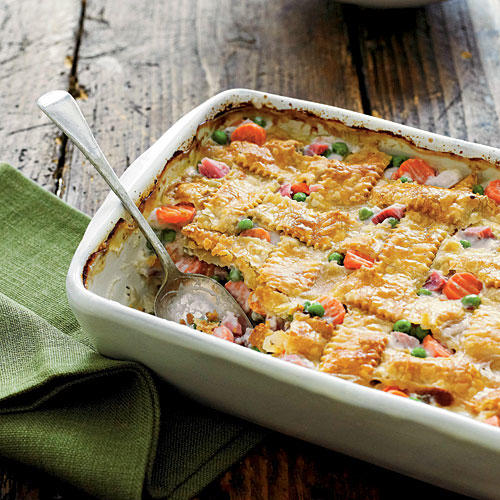 Ham-and-Vegetable Cobbler