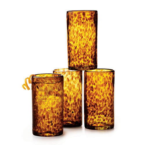Tortoiseshell Highball Glasses