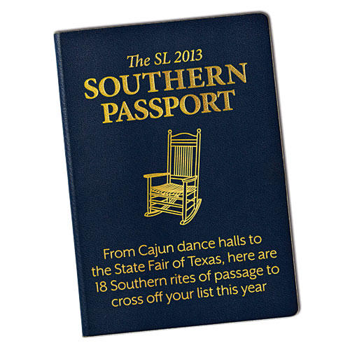 Get Your Southern Living Passport Stamps