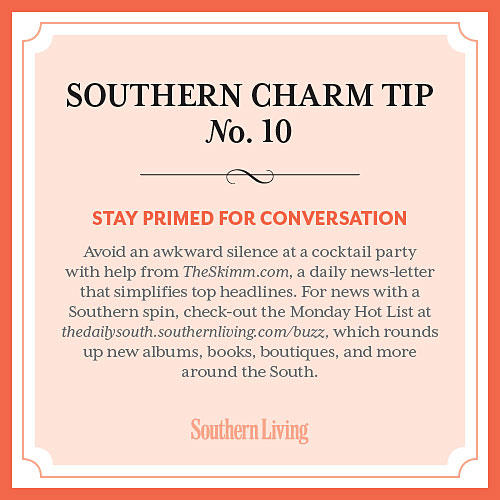 Tip #10: Stay primed for conversation