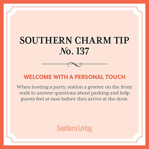 Tip #137: Welcome with a personal touch