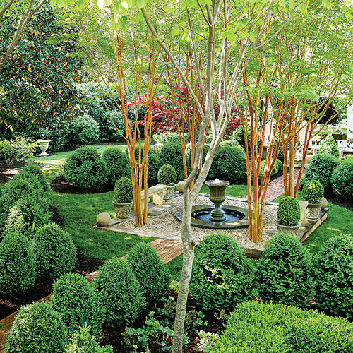 Southern Garden Design garden design with starting a landscape plan the basics southern hospitality with landscape garden from The Boxwood Parterre