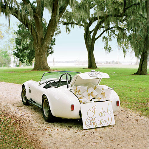 Romantic Getaway Car