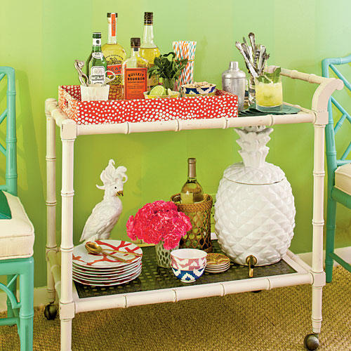 Chic Cocktail Cart