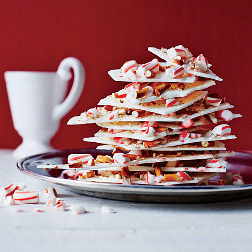 Peppermint-Pretzel Bark