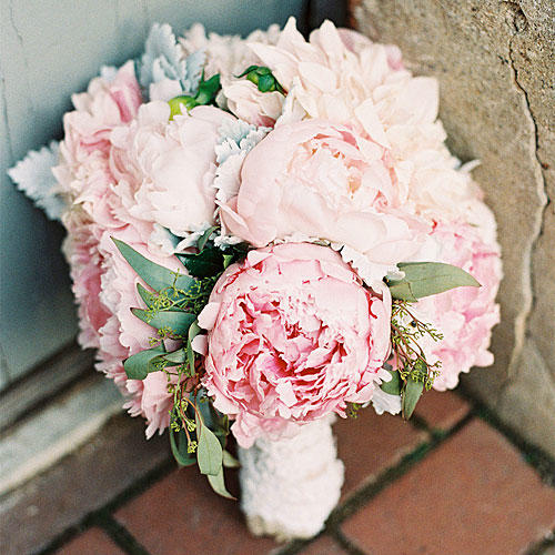 Christopher Flowers Seattle Bouquet Pink Blush Peony Garden Rose
