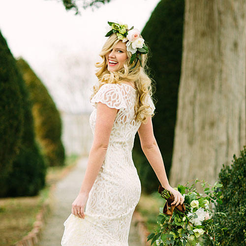 Modern Lace Gown