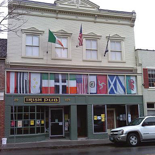 Irish Pub on Washington Street, Lewisburg, West Virginia