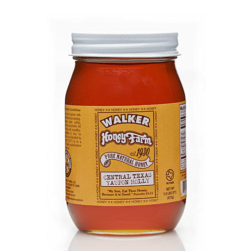 1403 Walker Honey Farm Yaupon Holly Honey