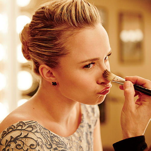 Behind The Scenes At The Cover Shoot Hayden Panettiere