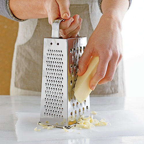 Step 1: Grate Butter