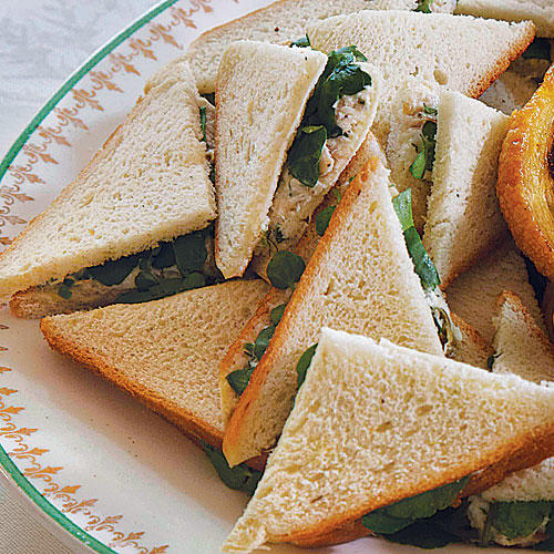 1212 CWSL Smoked Trout and Watercress Tea Sandwiches
