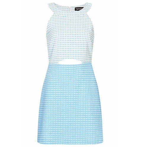 Gingham Aline Dress