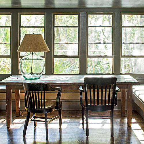 What He Did: Dining Room
