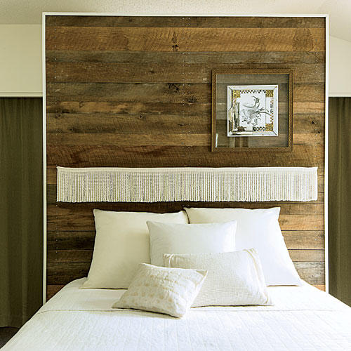 Barn-Wood Headboard