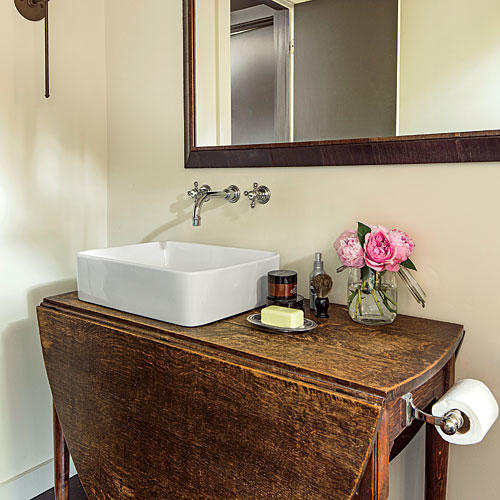 What He Did: Master Bath
