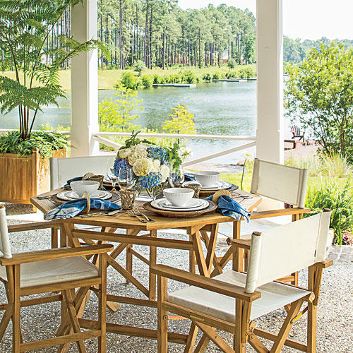 Palmetto Bluff Dining Porch After