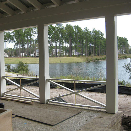 Palmetto Bluff Dining Porch Before