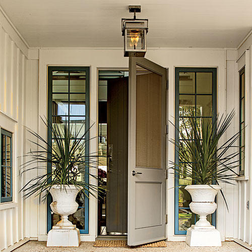 Palmetto Bluff Idea House Front Door