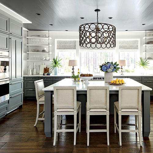 Southern Kitchen: Palmetto Bluff Idea House: Before & After Transformations